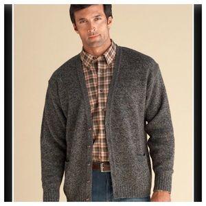 PENDLETON Shetland Washable Wool Cardigans Size L